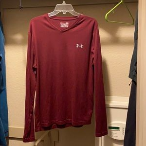Under armour long sleeve fitted cold gear shirt